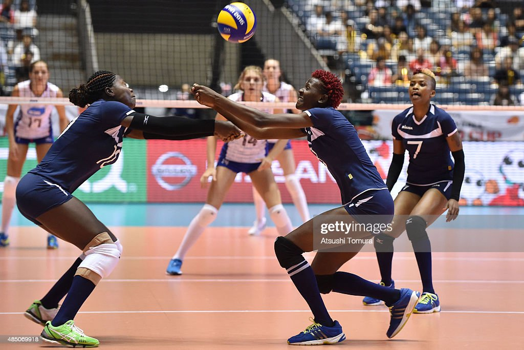 Russia v Kenya - FIVB Women's Volleyball World Cup Japan 2015 : News Photo