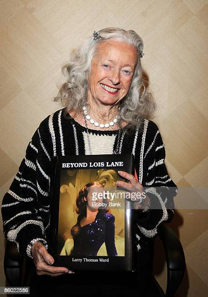 Noel Neill attends the 2009 Chiller Theatre Expo at the Hilton on April 17 2009 in Parsippany New Jersey