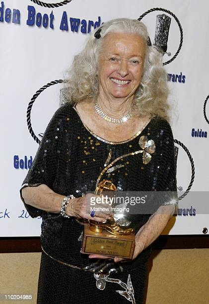 Noel Neill during 22nd Annual Golden Boot AwardsShow and Green Room at Sheraton Universal Hotel in Universal City California United States