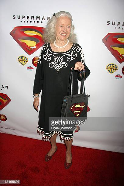 Noel Neill during Superman Returns DVD and Video Game Launch Party Arrivals at Social Hollywood in Los Angeles CA United States