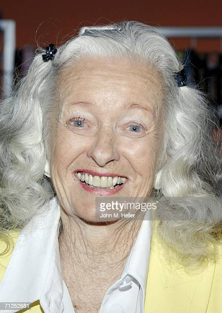 Noel Neill the original Lois Lane appears at Rocket Video on June 20 2006 in Los Angeles California