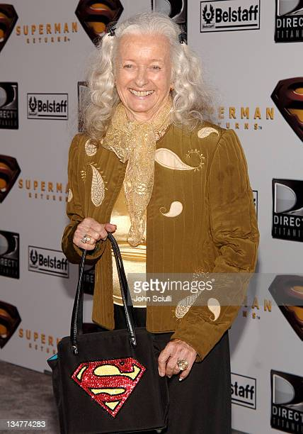 Noel Neill who starred as Lois Lane in the 1950s TV series Adventures of Superman