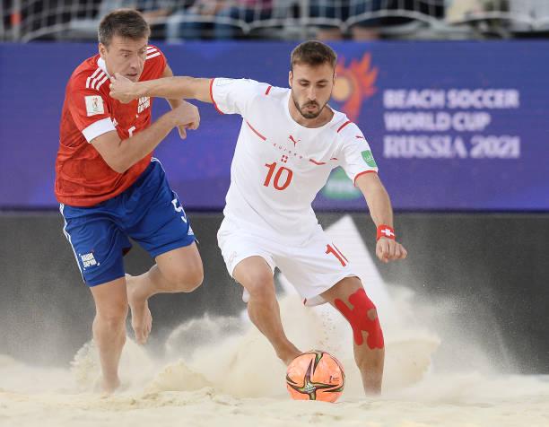 RUS: Football Union Of Russia v Switzerland - FIFA Beach Soccer World Cup 2021: Semi-final