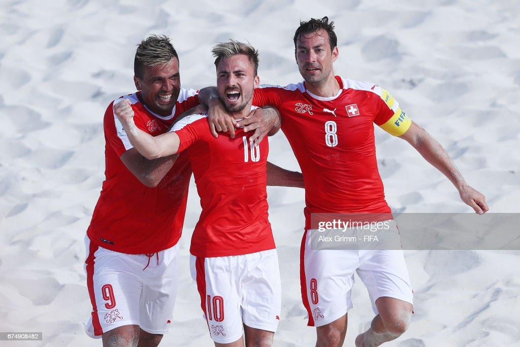 Switzerland v Ecuador- FIFA Beach Soccer World Cup Bahamas 2017 : ニュース写真