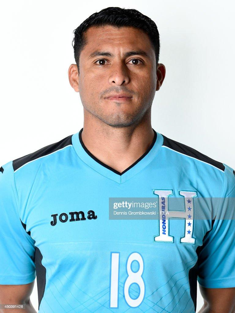 Noel Valladares of Honduras poses during the Official FIFA World Cup 2014 portrait session on June 10, 2014 in Porto Feliz, Brazil.