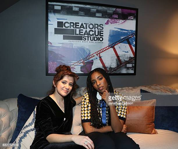 Noel Wells and Jessica Williams attend the Creators League Studio At 2017 Sundance Film Festival Day 12017 Sundance Film Festival premiere of The...