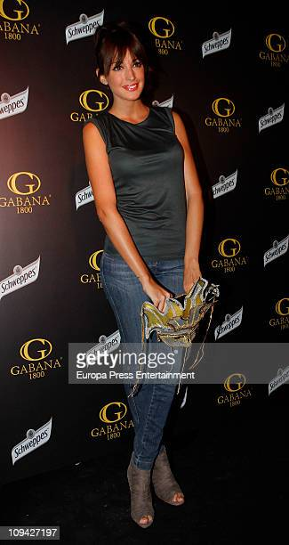 Noelia Lopez attends a carnival party at Gabana Club on February 24 2011 in Madrid Spain