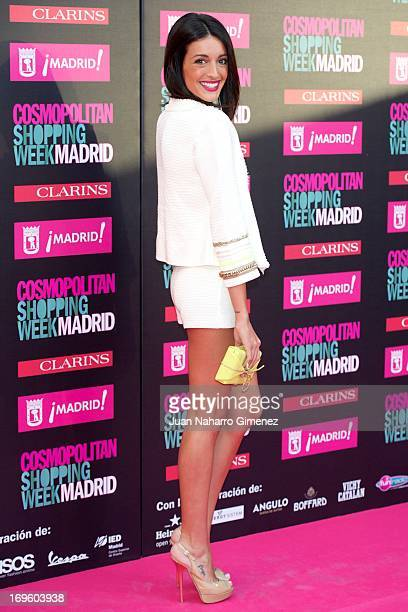Noelia Lopez attends the 'Cosmopolitan Shopping Week' party at the Plaza de Callao on May 28 2013 in Madrid Spain