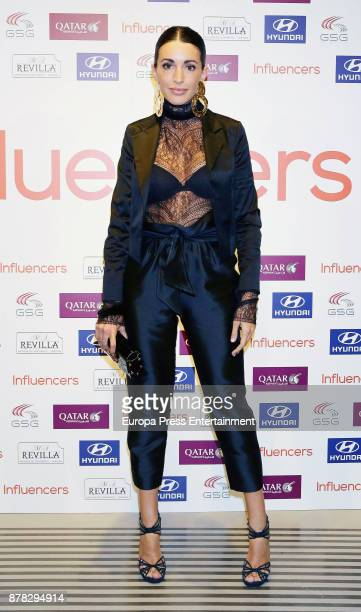 Noelia Lopez attends the 'Influencers' magazine launching photocall on November 22 2017 in Madrid Spain