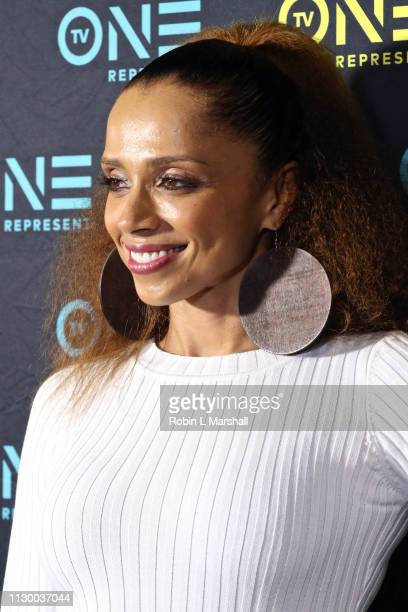 Noelle Bellinghausen attends the TV One Premiere Screening of 'Loved To Death' during the Pan African Film Festival at Baldwin Hills Crenshaw Plaza...