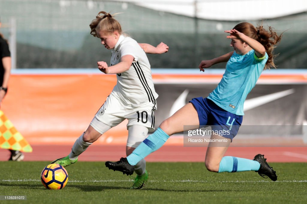 PRT: U16 Girl's Netherlands v U16 Girl's Germany - UEFA Development Tournament
