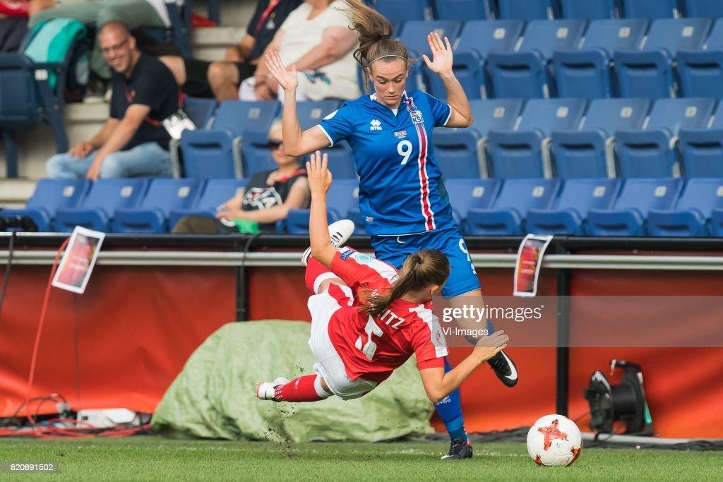UEFA WEURO 2017'Women: Iceland v Switzerland' : News Photo