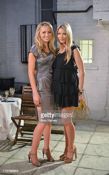 Noelle Reno and Caprice Bourret attend as Noelle Reno Hosts a summer evening with Francesca Barrow in aid of Chasing Zero on July 17 2013 in London...