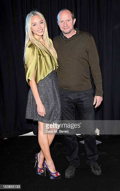 Noelle Reno and Scot Young attend a party celebrating the launch of 28 Club a new night club in the basement of Morton's Private Member's Club in...