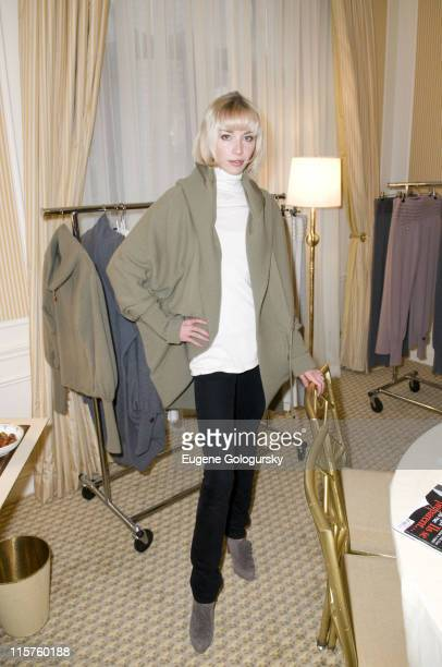 Noelle Reno at Matthew Mellon Noelle Reno host the Degrees of Freedom Lunch during MercedesBenz Fashion Week on February 6 2008 at the St Regis in...