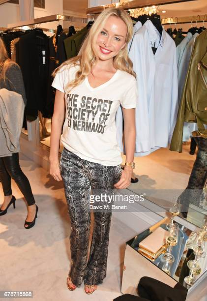 Noelle Reno attends the 29 Lowndes store launch on May 4 2017 in London England