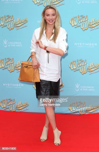 Noelle Reno attends the Gala performance of 'Wind In The Willows' at London Palladium on June 29 2017 in London England