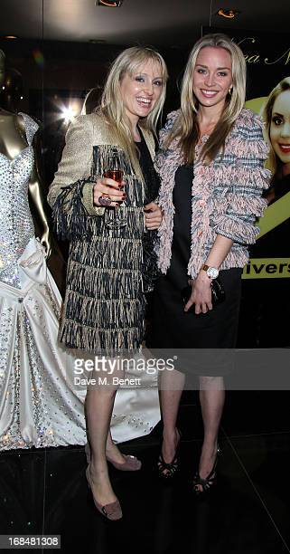 Noelle Reno attends the Nina Naustdal Couture 2nd Anniversary Party at Nina Naustdal Couture on May 9 2013 in London England