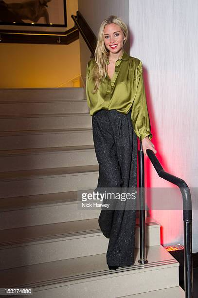 Noelle Reno attends the opening of 'Baroque' on October 2 2012 in London England