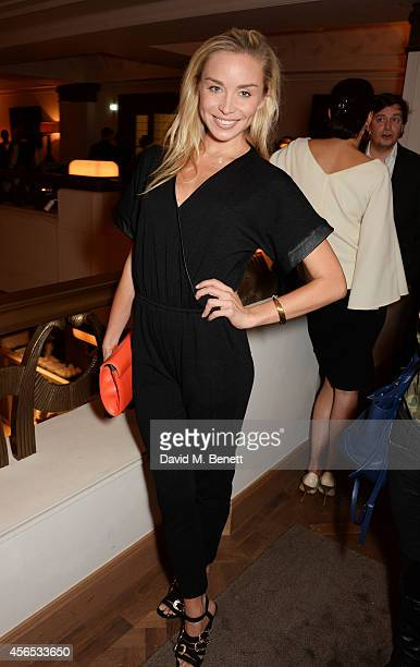 Noelle Reno attends the opening party of The Club at Hotel Cafe Royal on October 2 2014 in London England