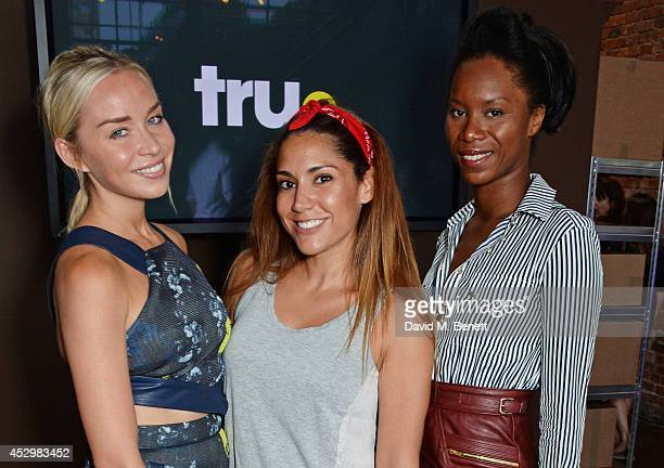 Noelle Reno Lily Hodges and Aicha McKenzie attend the star studded VIP launch party for truTV a brand new larger than life TV channel launching on...