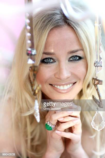 Noelle Reno poses for a portrait in Zandra Rhodes Studio on May 11 2010 in London England Noelle Reno will today launch her new range 'Z' in...