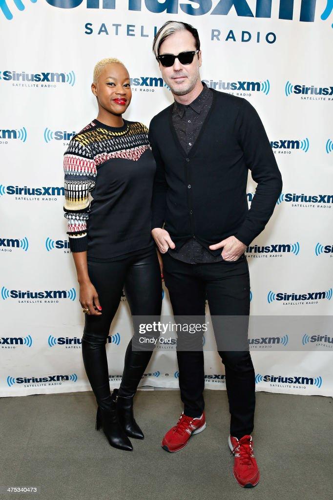 Celebrities Visit SiriusXM Studios - February 27, 2014