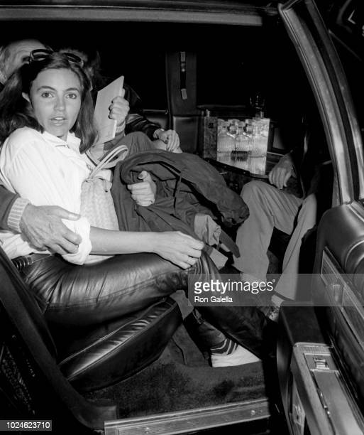 Noelle Williams and Andy Williams sighted on May 8 1984 at Elaine's Restaurant in New York City