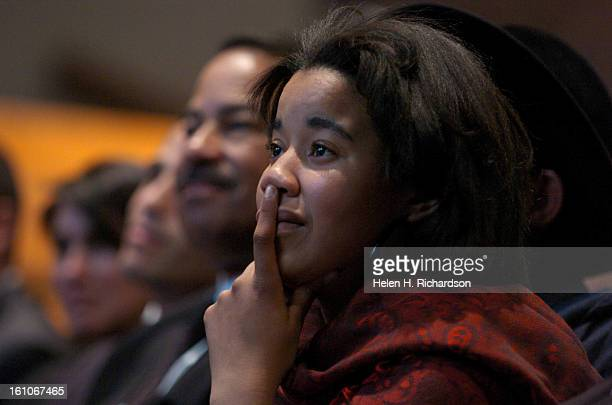 Noel's granddaughter Sloan NoelJohnson listens to remembrances of her beloved grandmother A memorial service celebrating and honoring the life of...