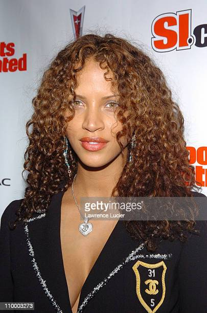 Noemi Lenoir during Sports Illustrated 2005 Swimsuit Issue Press Conference at AER Lounge in New York City New York United States