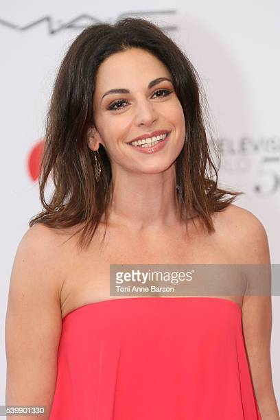 Noemie Elbaz arrives at the 56th Monte Carlo Tv Festival Opening Ceremony at the Grimaldi Forum on June 12, 2016 in Monte-Carlo, Monaco.