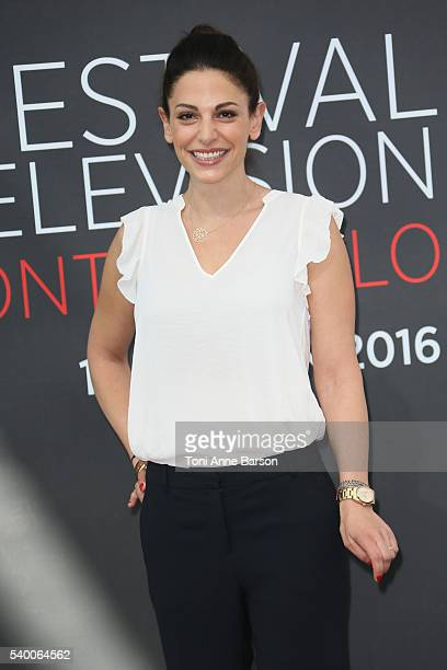 "Noemie Elbaz attends ""Camping Paradis"" Photocall as part of the 56th Monte Carlo Tv Festival at the Grimaldi Forum on June 13, 2016 in Monte-Carlo,..."