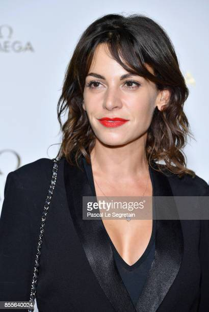 Noemie Elbaz attends Her Time Omega Photocall as part of the Paris Fashion Week Womenswear Spring/Summer 2018 on September 29 2017 in Paris France