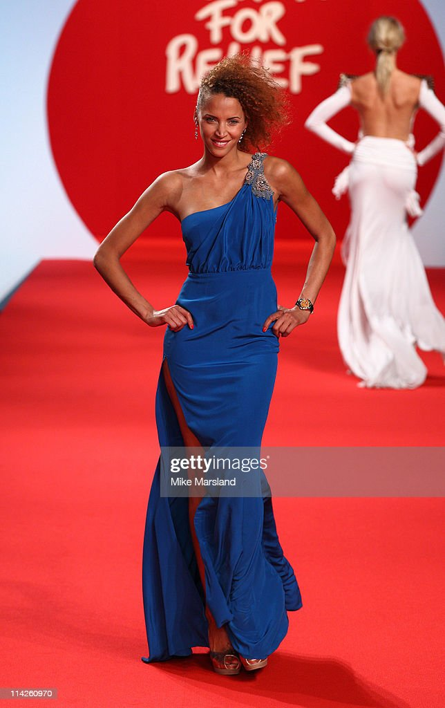 Noemie Lenoir attends the ' Fashion For Relief Japan Fundraiser' during the 64th Annual Cannes Film at Forville Market on May 16, 2011 in Cannes, France.