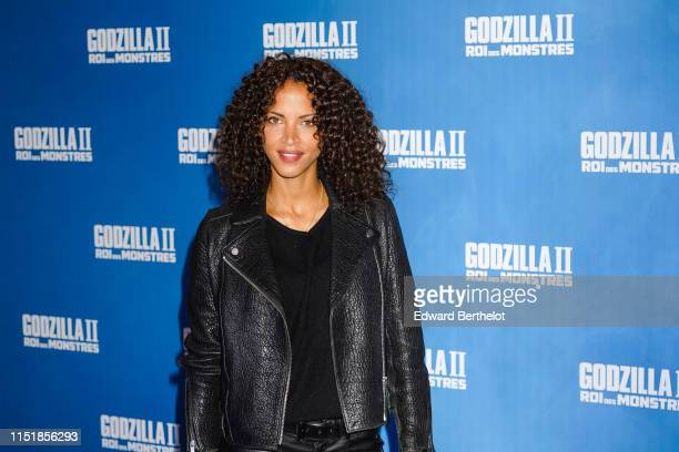 Noemie Lenoir attends the Godzilla II Roi des Monstres Premiere at Le Grand Rex on May 26 2019 in Paris France