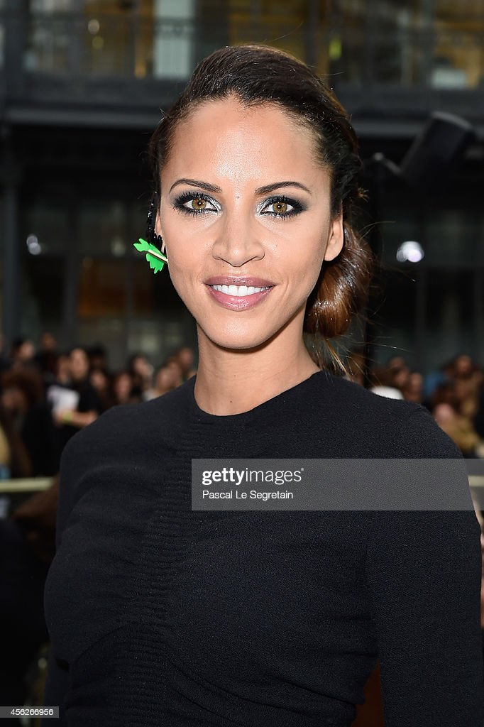 Noemie Lenoir attends the John Galliano show as part of the Paris Fashion Week Womenswear Spring/Summer 2015 on September 28, 2014 in Paris, France.
