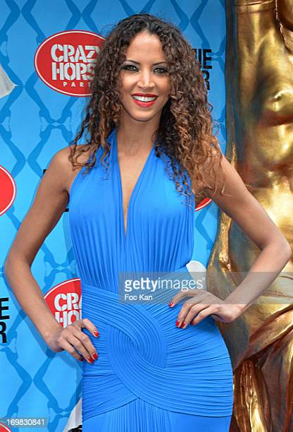 E 02 Noemie Lenoir attends the Model Noemie Lenoir At Crazy Horse on June 2 2013 in Paris France