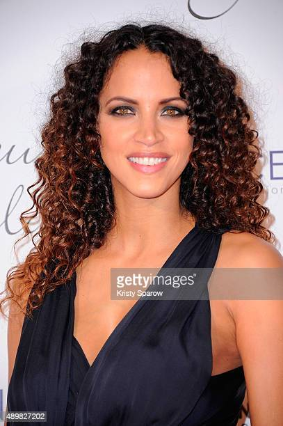 Noemie Lenoir attends the 'Par Coeur' Gala To Benefit CKDB Ce Ke Du Bonheur Association at Pavillon d'Armenonville on September 24 2015 in Paris...