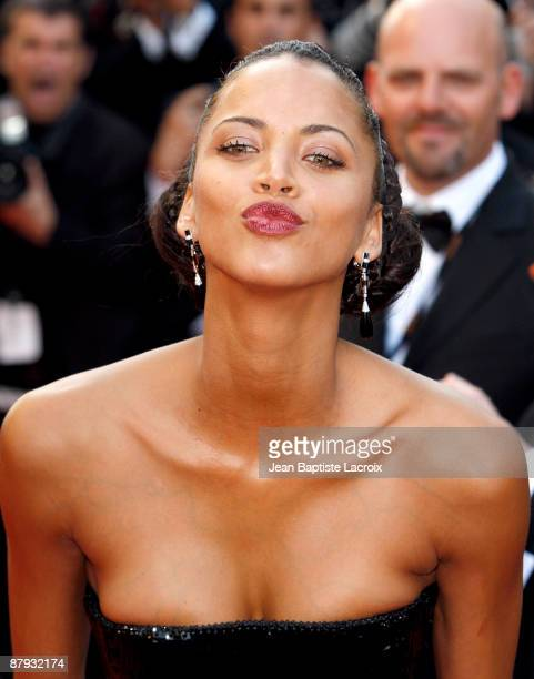Noemie Lenoir attends the premier of ''The Imaginarium Of Doctor Parnassus'' at the Palais De Festivals during the 62nd International Cannes Film...