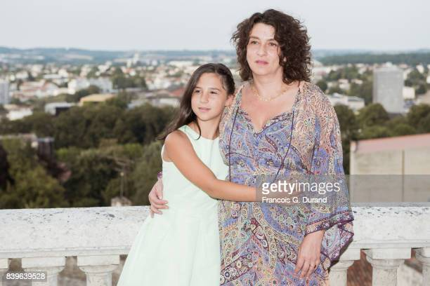Noemie Lvovsky and Luce Rodriguez attend the 10th Angouleme FrenchSpeaking Film Festival on August 26 2017 in Angouleme France