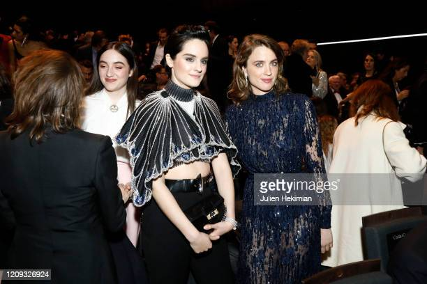 Noemie Merlant and Adele Haenel attend the Cesar Film Awards 2020 Ceremony At Salle Pleyel In Paris on February 28, 2020 in Paris, France.