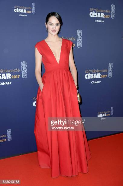 Noemie Merlant arrives at the Cesar Film Awards Ceremony at Salle Pleyel on February 24 2017 in Paris France