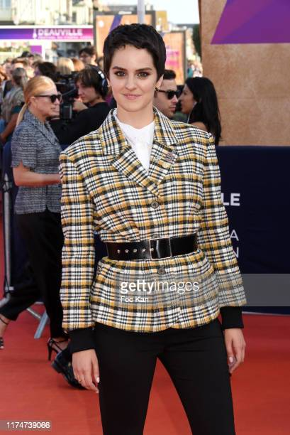 Noemie Merlant attend the Award Ceremony during the 45th Deauville American Film Festival on September 14 2019 in Deauville France