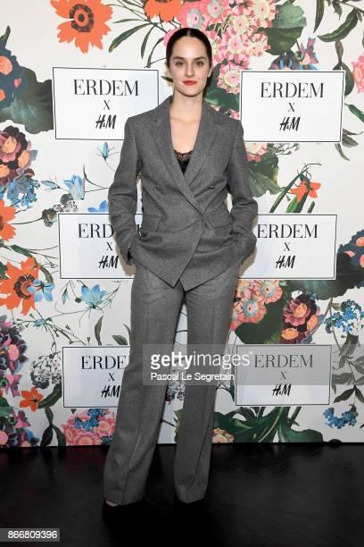 Noemie Merlant attends ERDEM X HM Paris Collection Launch at Hotel du Duc on October 26 2017 in Paris France