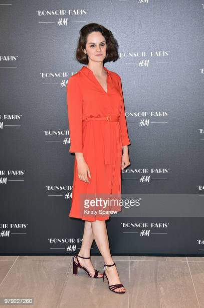 Noemie Merlant attends the H&M Flagship Opening Party as part of Paris Fashion Week on June 19, 2018 in Paris, France.