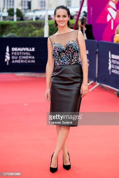 Noemie Merlant attends the opening ceremony at 46th Deauville American Film Festival on September 04, 2020 in Deauville, France.
