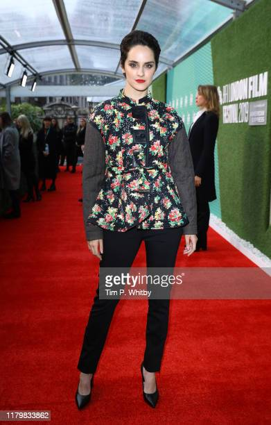 Noemie Merlant attends the Portrait Of A Lady On Fire UK Premiere during the 63rd BFI London Film Festival at the Embankment Gardens Cinema on...