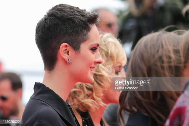 Noemie Merlant attends the screening of Portrait Of A Lady On Fire during the 72nd annual Cannes Film Festival on May 19 2019 in Cannes France
