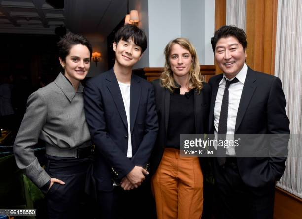Noemie Merlant Choi Wooshik Adele Haenel and Song KangHo attend NEON Celebrates Portrait of a Lady on Fire and Parasite TIFF 2019 at Soho House...