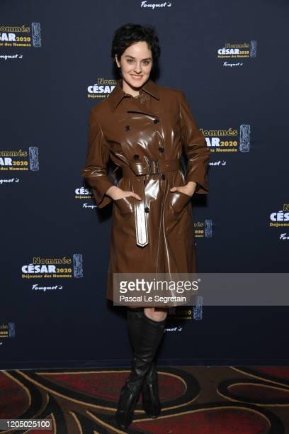 Noemie Merlant nominated for 'Best Actress' in 'Portrait de la jeune fille en feu' attends the Cesar 2020 Nominee Luncheon At Le Fouquet's on...